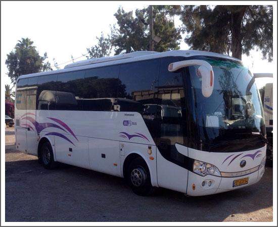 השכרת אוטובוס